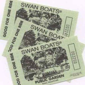 Swan Boat Tickets